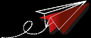 Papierflieger - Symbol für die Kommunalwahl 2020